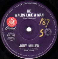 MILLER,JODY  -   He walks like a man/ Looking at the world through a tear (G79378/7s)