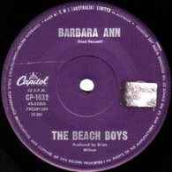 BEACH BOYS  -   Barbara Ann/ Girl don't tell me (G791281/7s)