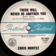 MONTEZ,CHRIS  -   There will never be another you/ You can hurt the one you love (G791300/7s)