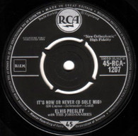 PRESLEY,ELVIS  -   It's now or never (o sole mio)/ Make me know it (G80392/7s)
