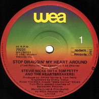 NICKS,STEVIE WITH TOM PETTY & HEARTBREAKERS  -   Stop dragging my heart around/ Kind of woman (G80347/7s)