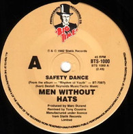MEN WITHOUT HATS  -   Safety dance/ Security (G81354/7s)