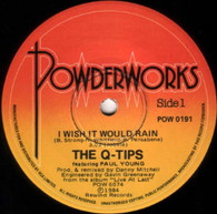 Q-TIPS FEATURING PAUL YOUNG  -   I wish it would rain/ Broken man (G81436/7s)