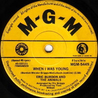BURDON,ERIC & ANIMALS  -   When I was young/ A girl named Sandoz (G8164/7s)