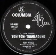 NEW WORLD  -   Tom-tom turnaround/ Lay me down (G81384/7s)
