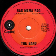 BAND  -   Rag mama rag/ The unfaithful servant (G8122/7s)