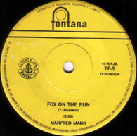 MANFRED MANN  -   Fox on the run/ Too many people (82283/7s)