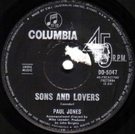 JONES,PAUL  -   Sons and lovers/ Three sisters (82242/7s)