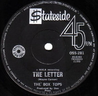 BOX TOPS  -   The letter/ Happy times (8274/7s)