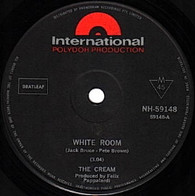 CREAM  -   White room/ Those were the days (82111/7s)
