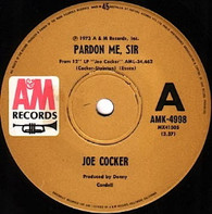 COCKER,JOE  -   Parden me, sir/ St. James infirmary blues (82102/7s)