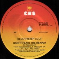 BLUE OYSTER CULT  -   (Don't fear) the reaper/ Tattoo vampire (8265/7s)