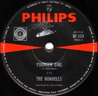 HONDELLS  -   Younger girl/ All American girl (82216/7s)