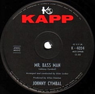 CYMBAL,JOHNNY  -   Mr. Bass man/ Sacred lovers vow (G83110/7s)