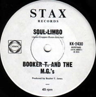 BOOKER T & M.G.'S  -   Soul-limbo/ Heads or tails (G8356/7s)