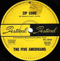 FIVE AMERICANS  -   Zip code/ Sweet bird of youth (G84162/7s)