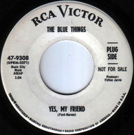 BLUE THINGS  -   Yes, my friend/ Somebody help me (8532/7s)