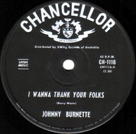 BURNETTE,JOHNNY  -   I wanna thank your folks/ The giant (8551/7s)