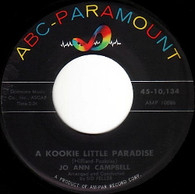 CAMPBELL,JO ANN  -   A kookie little paradise/ Bobby, Bobby, Bobby (8553/7s)