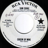 COOKE,SAM  -   Cousin of mine/ That's where it's at (8567/7s)