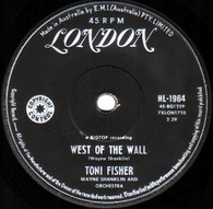 FISHER,TONI  -   West of the wall/ What did I do (85106/7s)