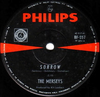 MERSEYS  -   Sorrow/ Some other day (85183/7s)