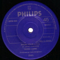 LAING,SHONA  -   Show your love/ Don't expect me to be your friend (G69269/7s)