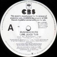 BUSHWACKERS  -   Lime juice tub/ Marijuana Australiana   (G7635/7s)