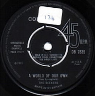 SEEKERS  -   A world of our own/ Sinner man (G77416/7s)