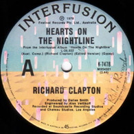CLAPTON,RICHARD  -   Hearts on the nightline/ When the heat's off (G78100/7s)