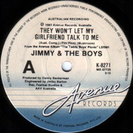 JIMMY & BOYS  -   They won't let my girlfriend talk to me/ Brave new world (G78234/7s)