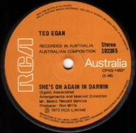 EGAN,TED  -   She's on again in Darwin/ Willie the whingeing pom (G79151/7s)