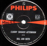 BILL & BOYD  -   Cloudy summer afternoon/ Once in a while (G7955/7s)