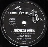 DURBIN,ALLISON  -   Amerikan music/ Follow the leader (G80141/7s)