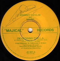 DEVLIN,JOHNNY & SAILING  -   I'm heading for L.A./ I'm heading for L.A. (instrumental) (G81161/7s)
