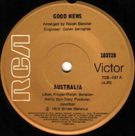 GOOD NEWS  -   Australia/ Australia (Instrumental) (G81232/7s)