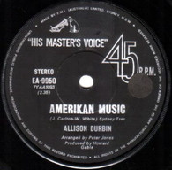 DURBIN,ALLISON  -   Amerikan music/ Follow the leader (G82152/7s)