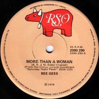BEE GEES  -   More than a woman/ Children of the world (G8346/7s)