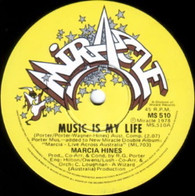 HINES,MARCIA  -   Music is my life/ Empty (G83219/7s)