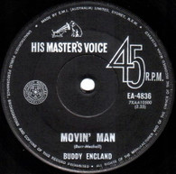 ENGLAND,BUDDY  -   Movin' man/ Get away (G77170/7s)