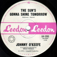 O'KEEFE,JOHNNY  -   The sun's gonna shine tomorrow/ Mansion over the hilltop (G78324/7s)