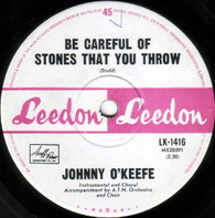 O'KEEFE,JOHNNY  -   Be careful of stones that you throw/ My heart belongs to only you  (G80354/7s)