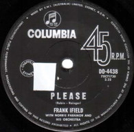 IFIELD,FRANK  -   Please/ Half as much (82223/7s)