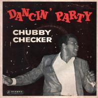 CHECKER,CHUBBY  -  DANCIN' PARTY Limbo rock/ Popeye/ Dancin' party/ La Paloma twist (G771215/7EP)
