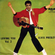 PRESLEY,ELVIS  -  LOVING YOU VOLUME 2 Lonesome cowboy/ Hot dog/ Mean woman blues/ Got a lot o' livin' to do! (G811152/7EP)