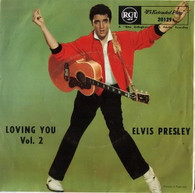 PRESLEY,ELVIS  -  LOVING YOU VOL. 2 Lonesome cowboy/ Hot dog/ Mean woman blues/ Got a lot o' livin' to do! (G871826/7EP)