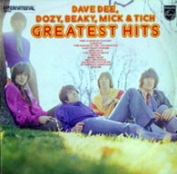 DAVE DEE, DOZY, BEAKY, MICK & TICH  -  GREATEST HITS  (681165/LP)