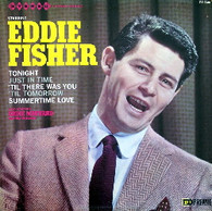 FISHER,EDDIE  -  STARRING EDDIE FISHER  (G701128/LP)