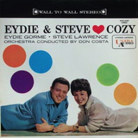 GORME,EYDIE & STEVE LAWRENCE  -  COZY Cozy * Wouldn't it be loverly * Like in love * It's so nice to have a man around the house * Would you like to take a walk * A fine romance * I like the likes of you * Without you I'm nothing * She didn't say yes