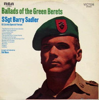 SADLER,SSGT BARRY  -  BALLADS OF THE GREEN BERETS  (G771169/LP)